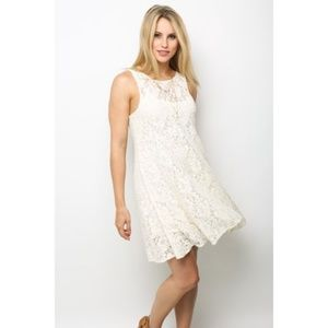 Free People Women's Sleeveless Lace Dress